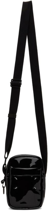 Maison Margiela Black Shiny Camera Bag