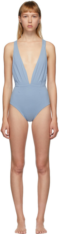 Haight Blue Marina One-Piece Swimsuit