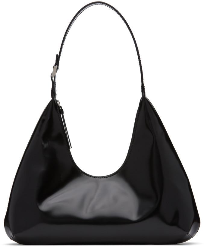 BY FAR Black Amber Shoulder Bag