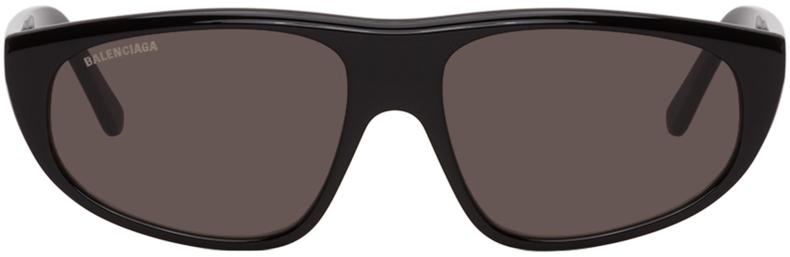 Balenciaga Black Cat-Eye Sunglasses