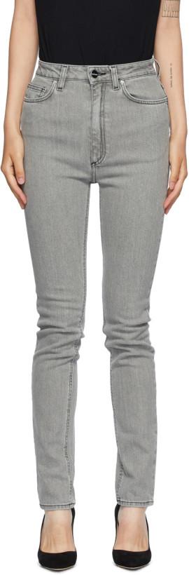 Totême Grey New Standard Jeans