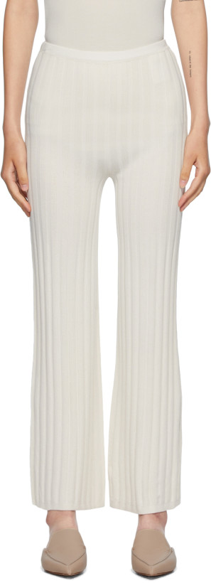 Totême Off-White Cour Lounge Pants
