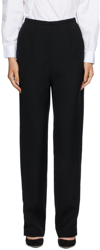 Totême Black Arles Trousers