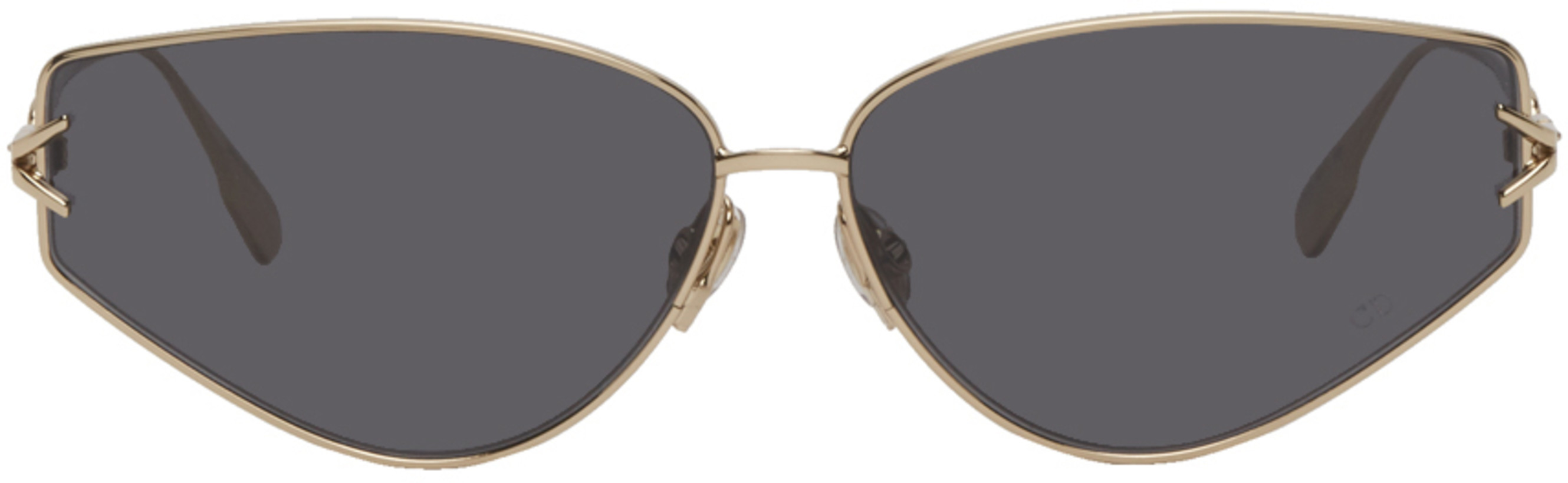 Dior Gold & Grey DiorGipsy2 Sunglasses