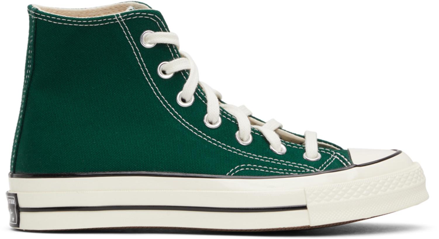 Converse グリーン Seasonal Color Chuck 70 ハイ スニーカー メンズ ¥10500 JPY