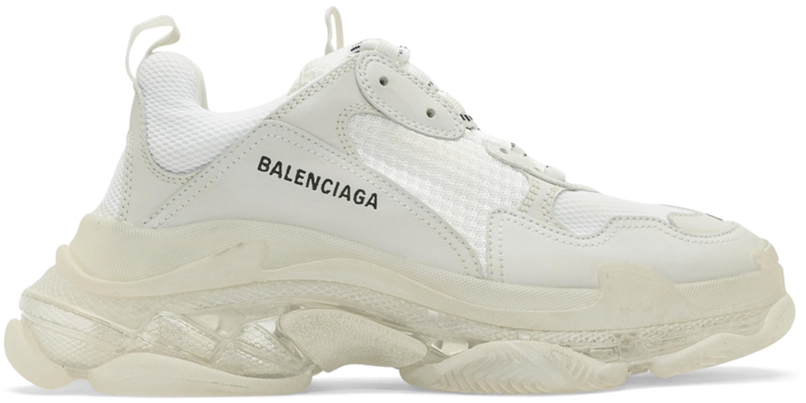 Balenciaga トリプルS クリアソール