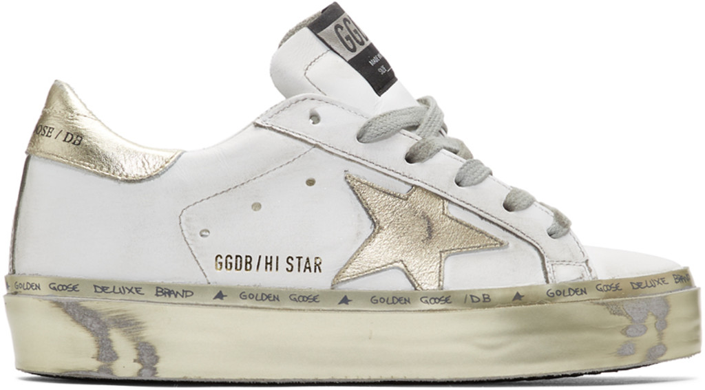 Sneakers Hi Sneakers Star Hi Gold Whiteamp; Whiteamp; Gold Star 08OPwnk