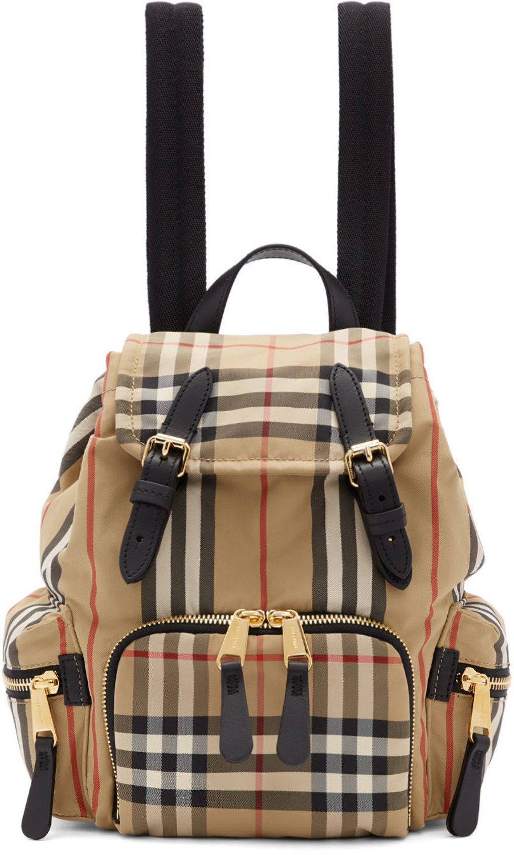 Sac Check Dos À Small Heritage Beige I67yvgYbf