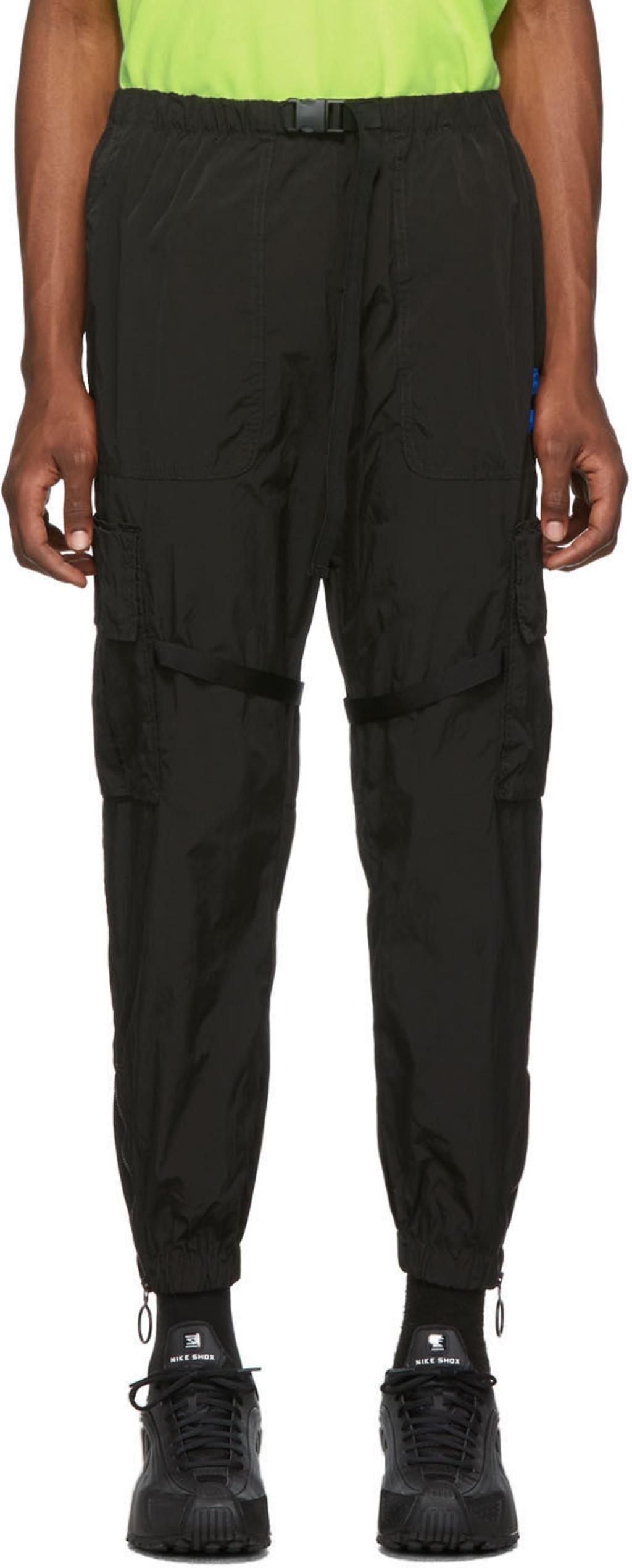 Cargo Parachute Pantalon Et Blanc Offf Noir dCsQthr