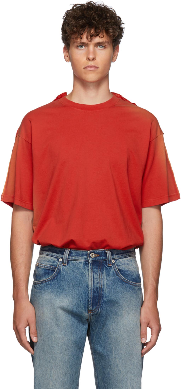 T Red Double Red Double Red Shirt Shirt Sunbleach Sunbleach Double T Sunbleach kiOPZuX
