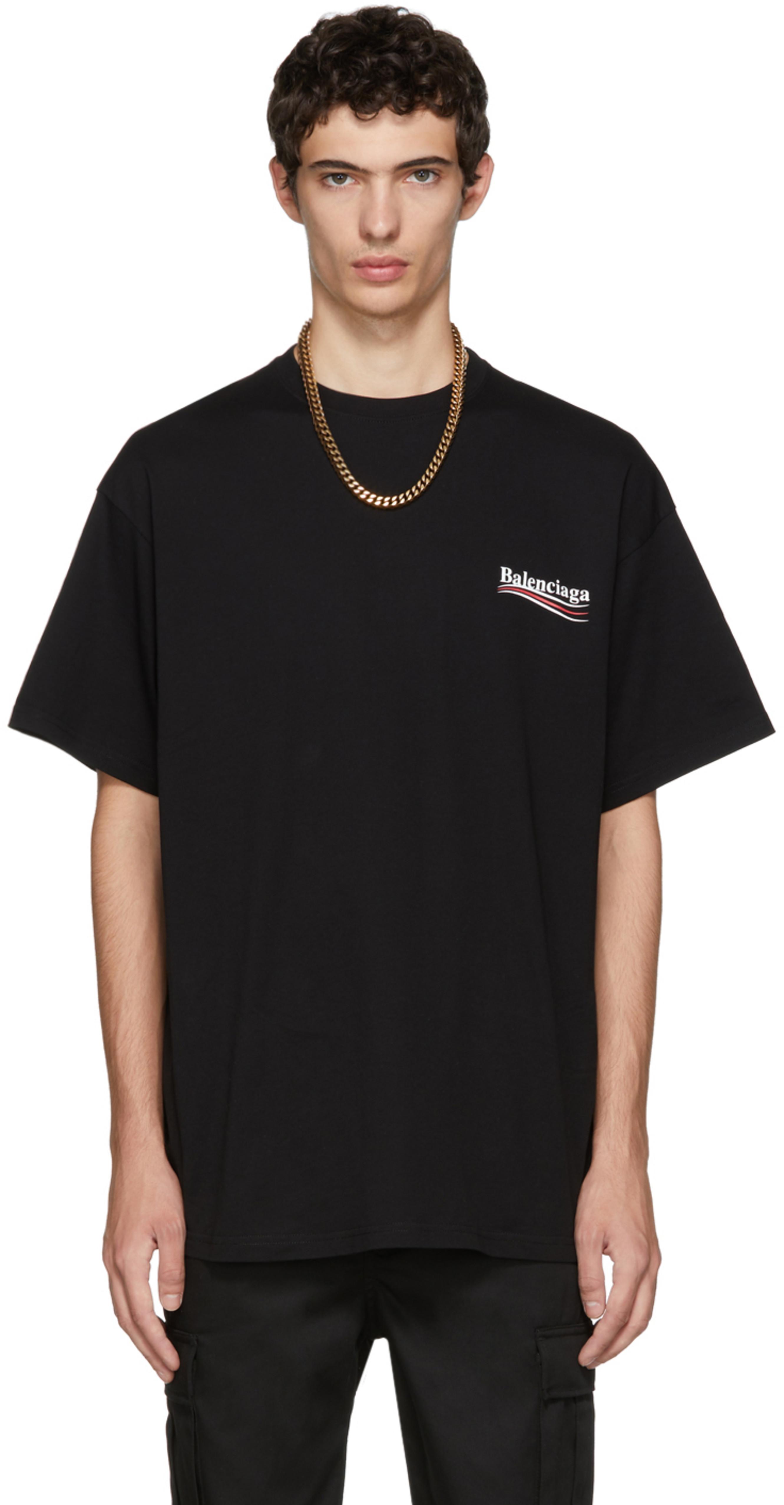 78ae073eee3f81 Balenciaga t-shirts for Men   SSENSE UK
