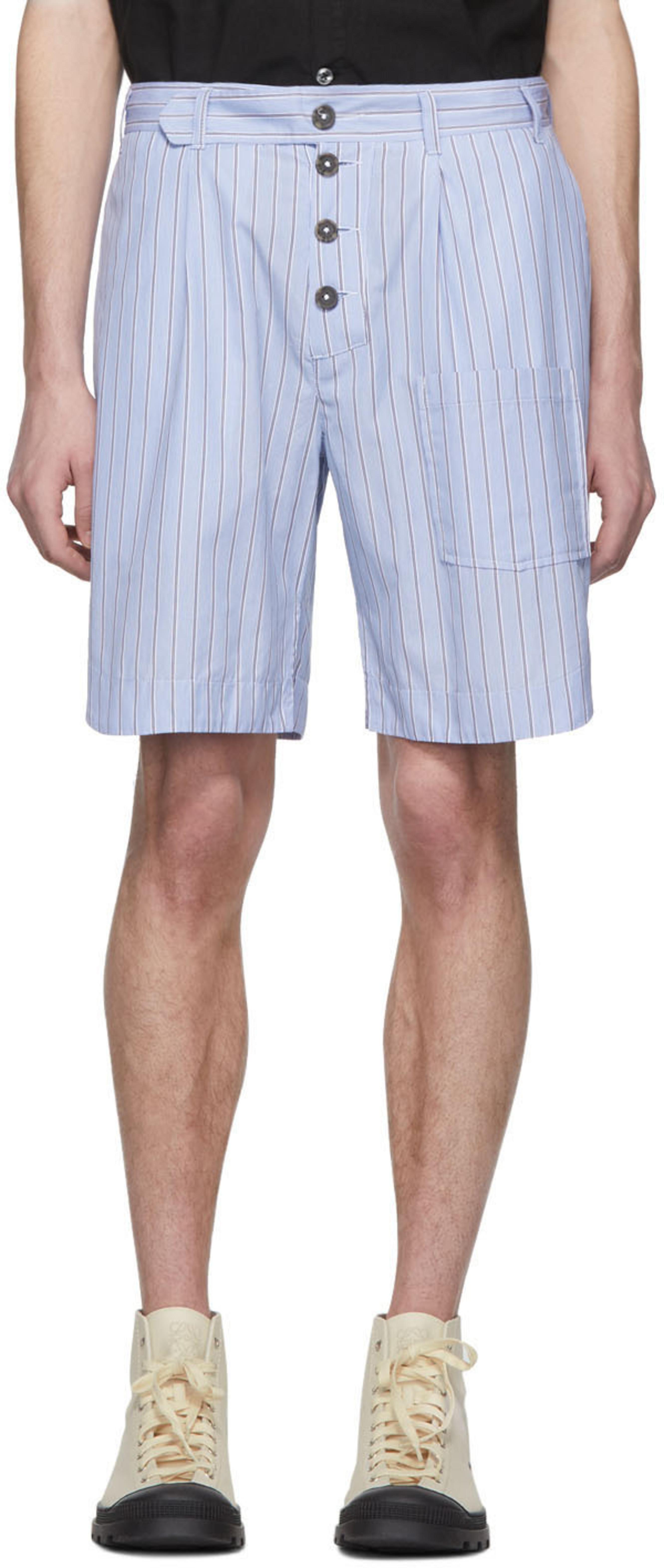 Shorts rayas con Shorts rayas azules con Shorts con azules azules rayas Shorts OkuXiPZ