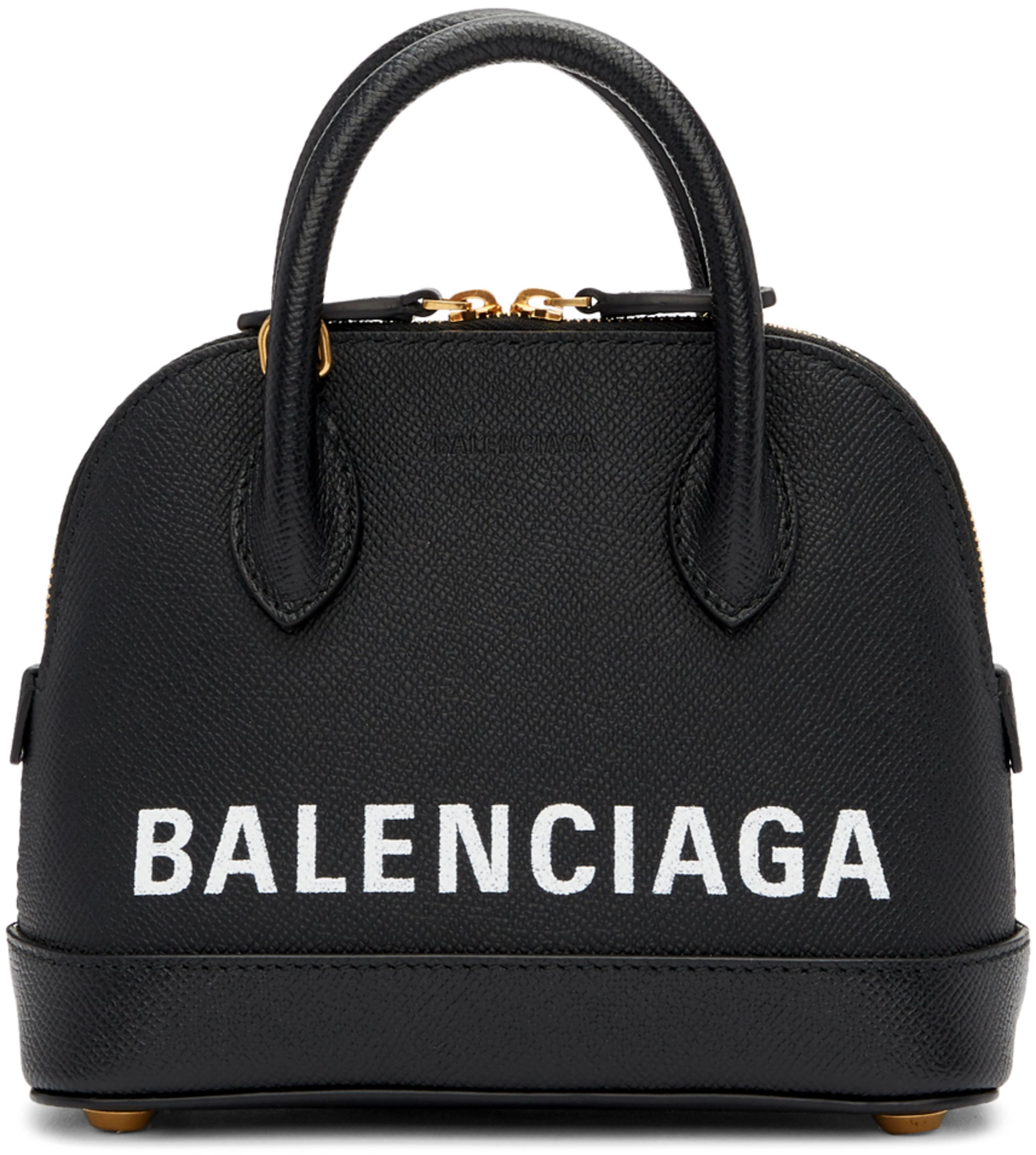 Ville Handle Top Bag Xxs Black NnwmPv8y0O