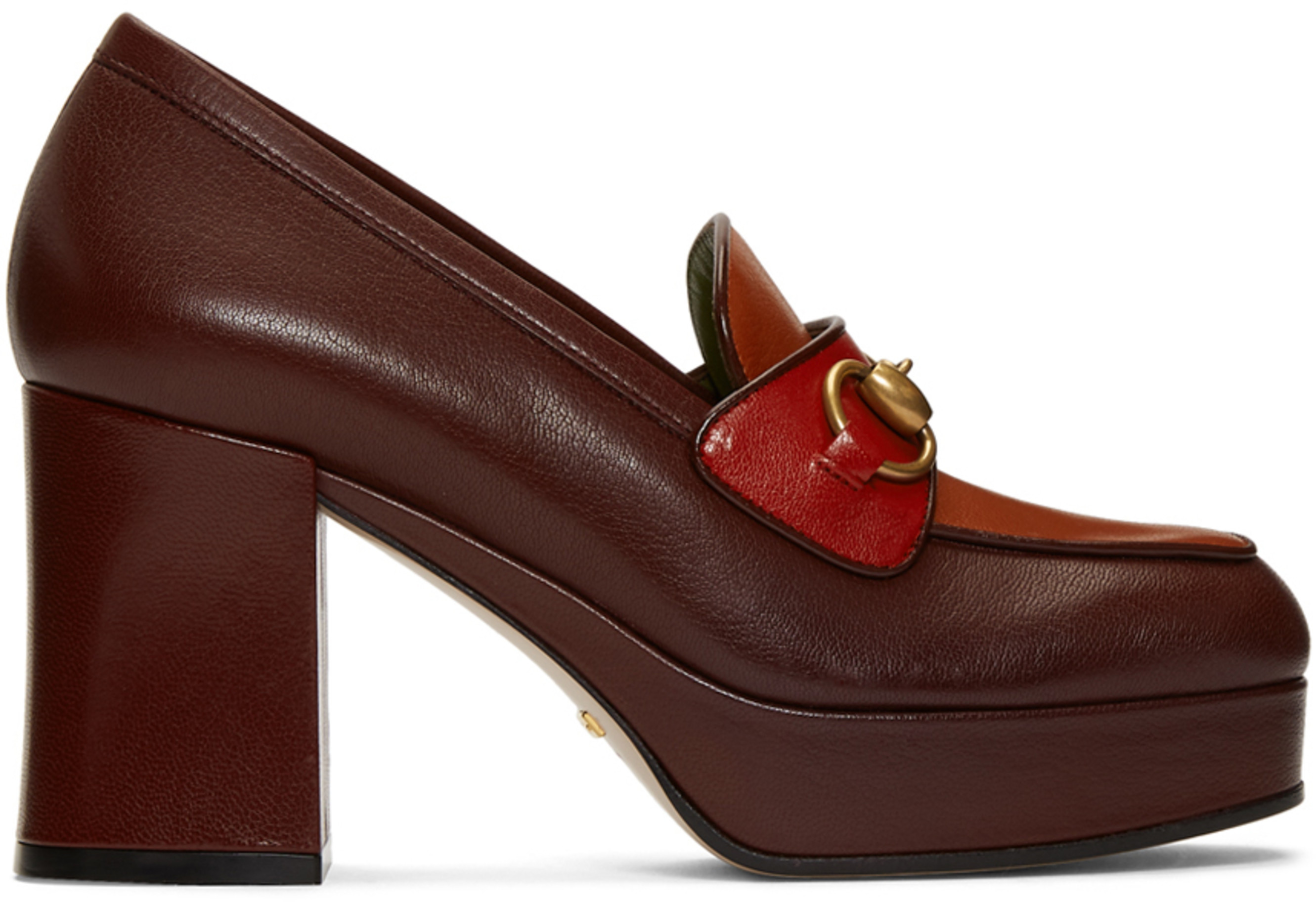 Burgundyamp; Houdan 85 Horsebit Heels Red Igm7Ybf6yv