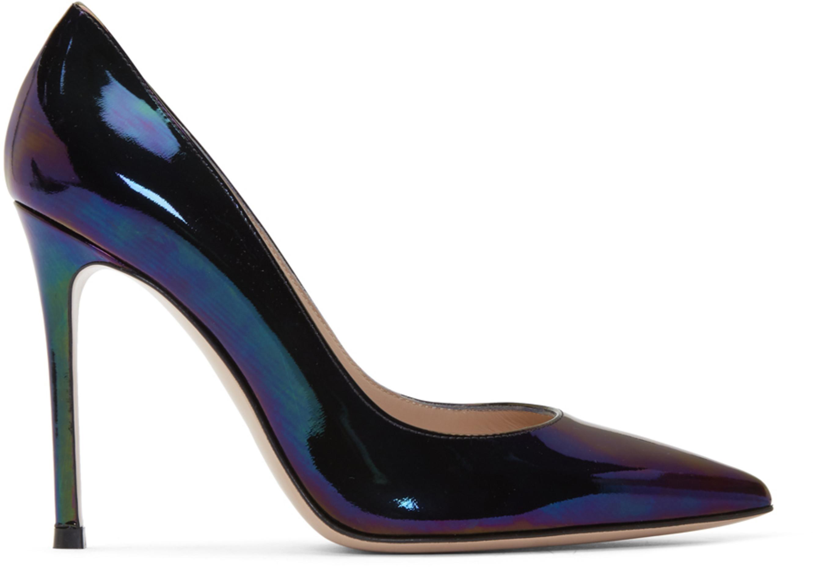 Gianvito Heels Multicolor Oil Multicolor Oil Multicolor Oil Gianvito 105 Heels 105 shCQtrxBd