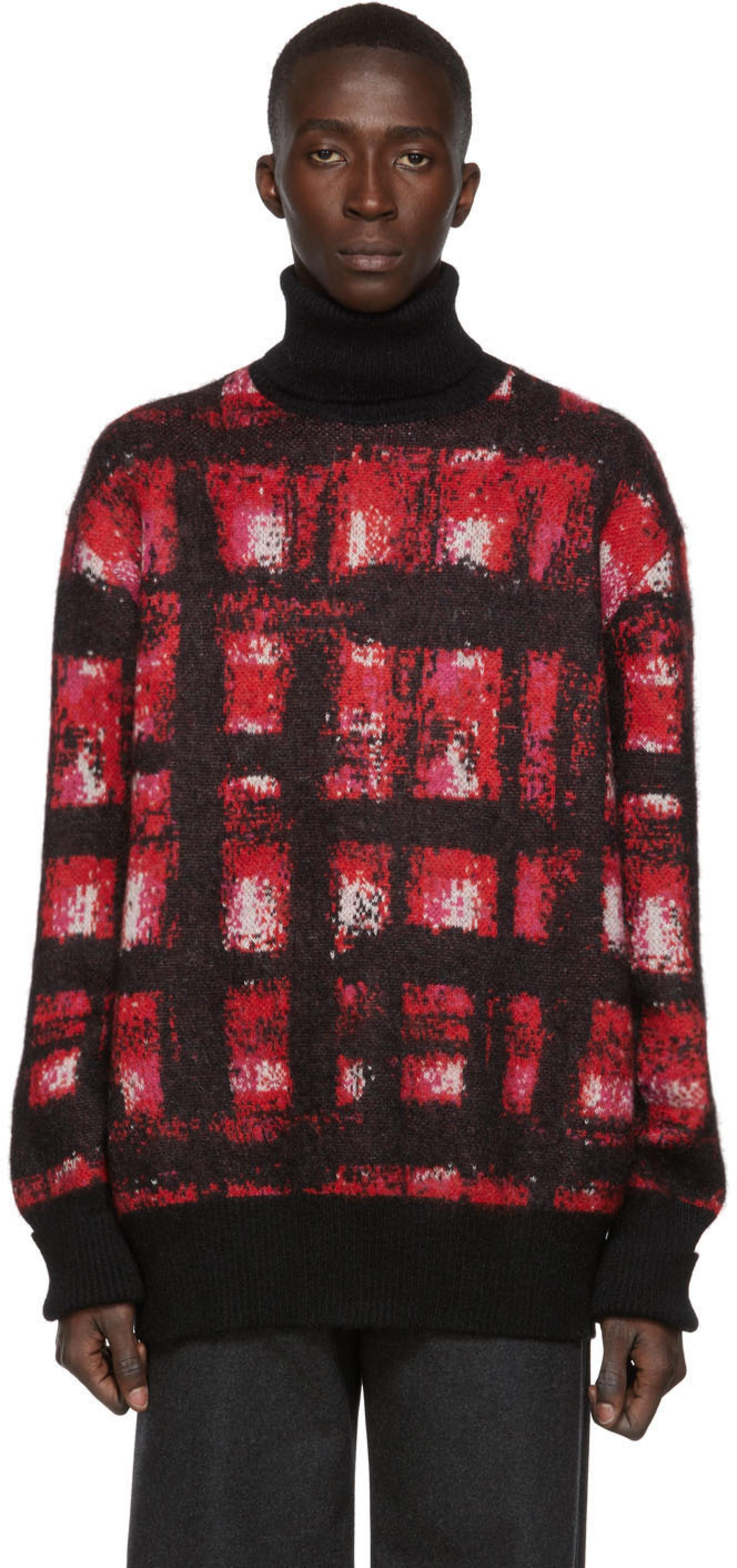 Rouge Et Roulé Mohair En Blanc Col 5L4ARj