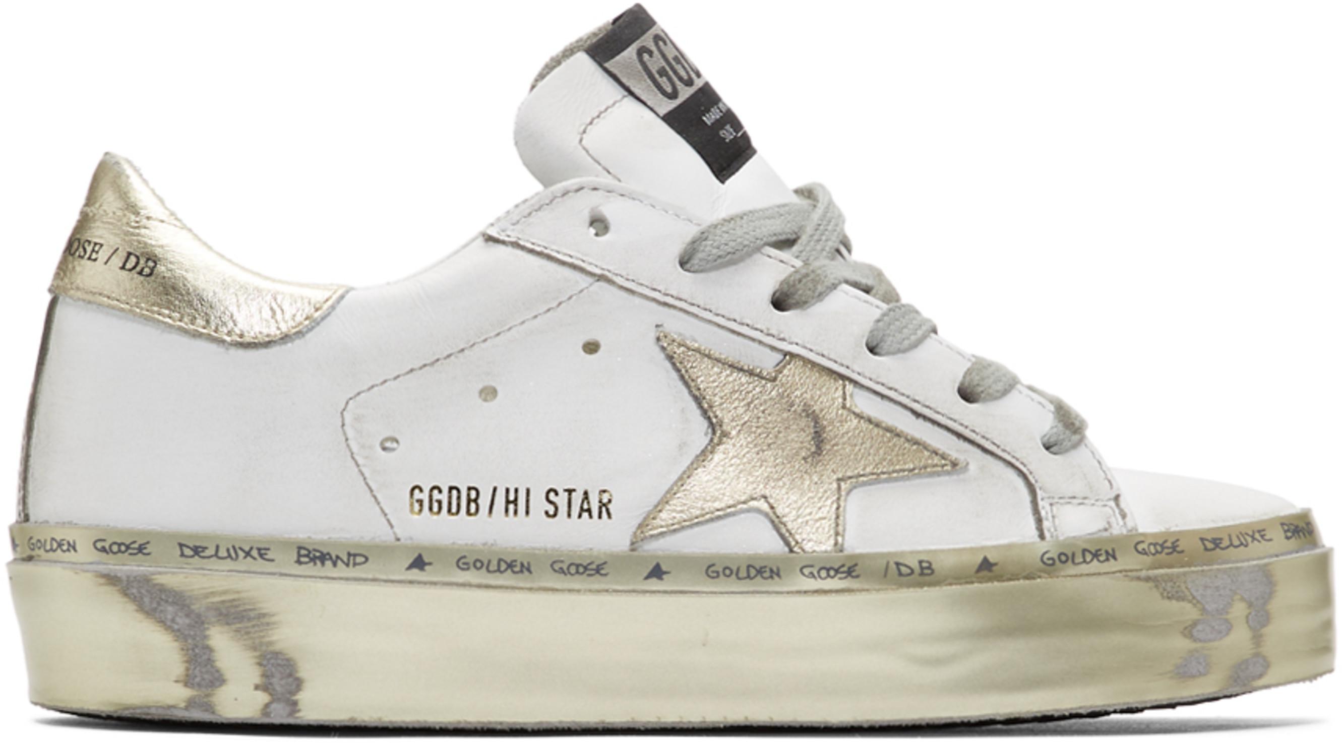 Hi Dorées Blanches Et Star Baskets c4qSRjL35A
