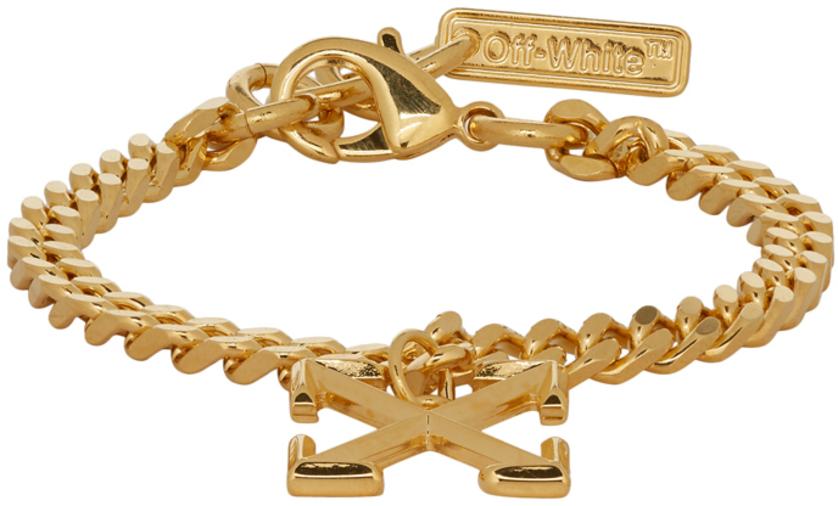 Bracelet Arrow Ssense Gold Exclusive Exclusive Ssense OPXZiuk
