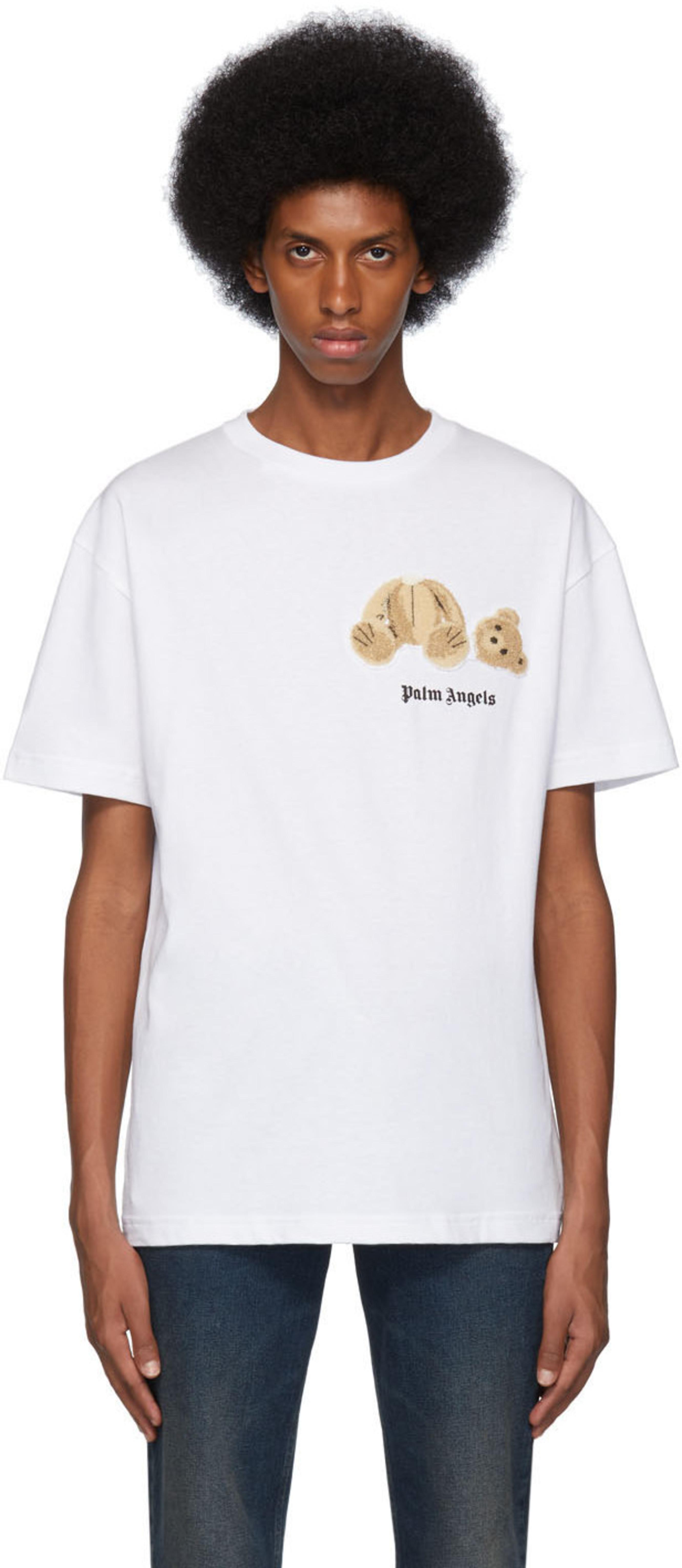 Kill The T Blanc Mini Bear Shirt F13lcKuTJ