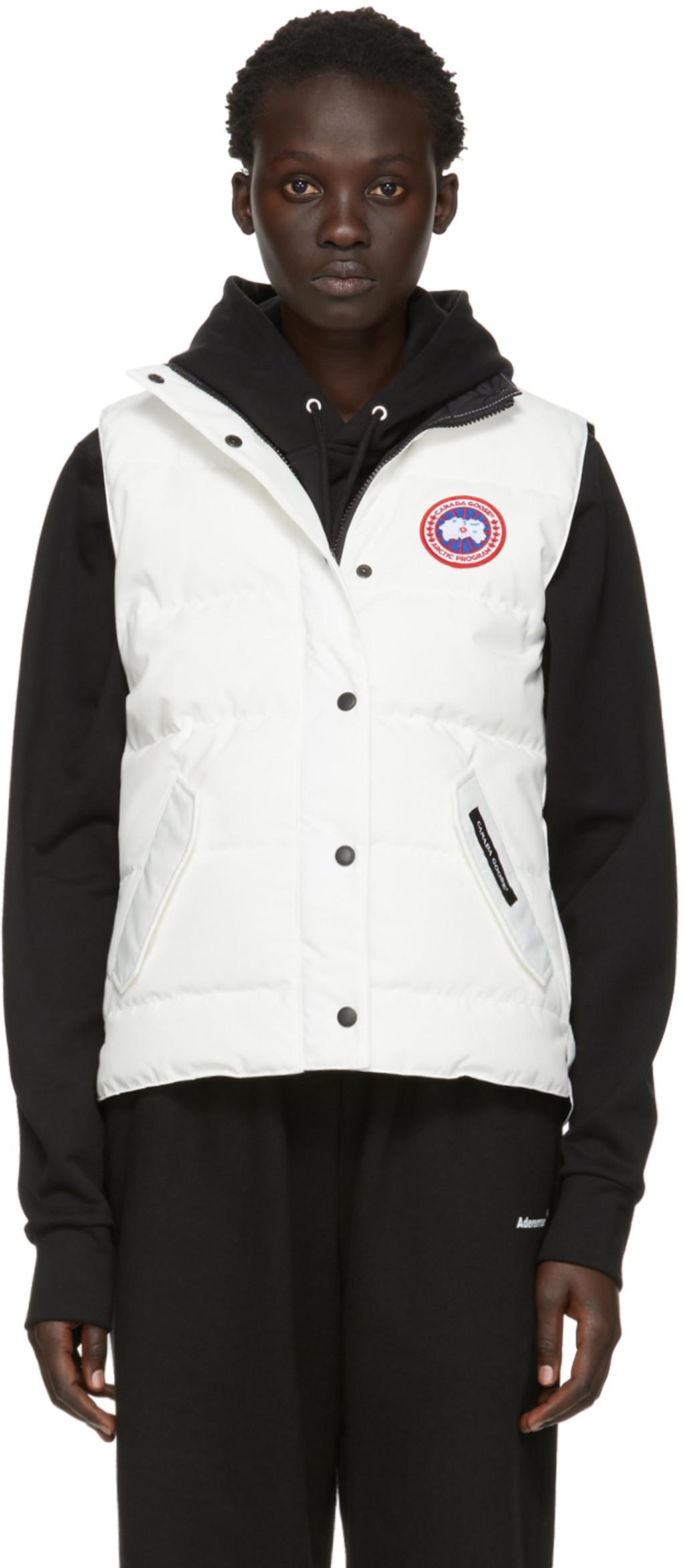 9aa451db132 White Down Freestyle Vest