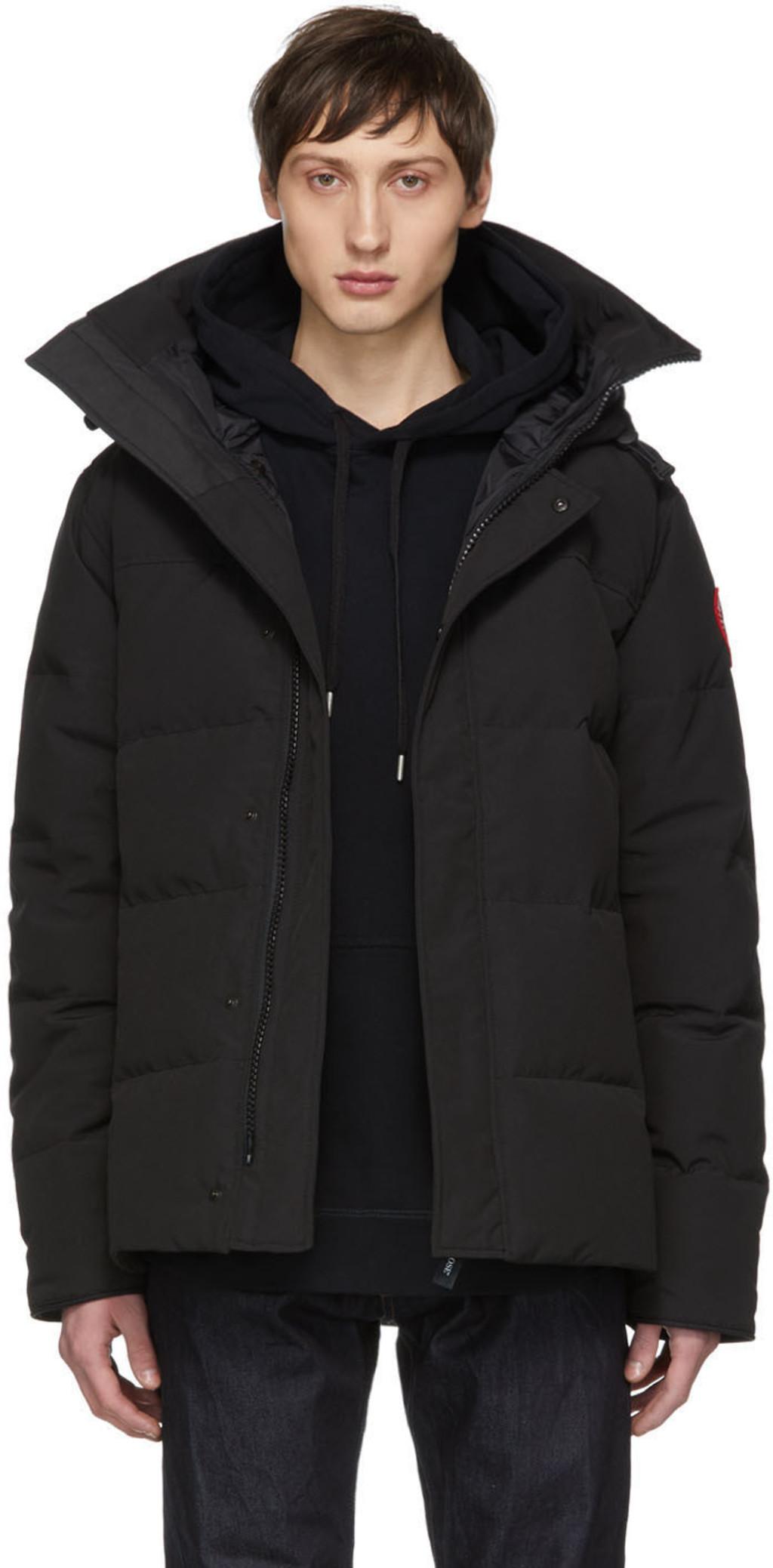 73ab847258d Black Down Macmillan Jacket