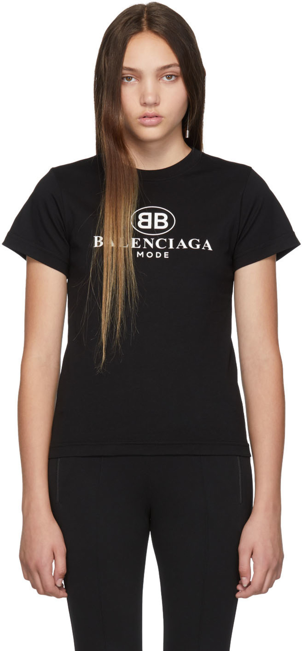 7f97576c0ea0 Balenciaga t-shirts for Women | SSENSE