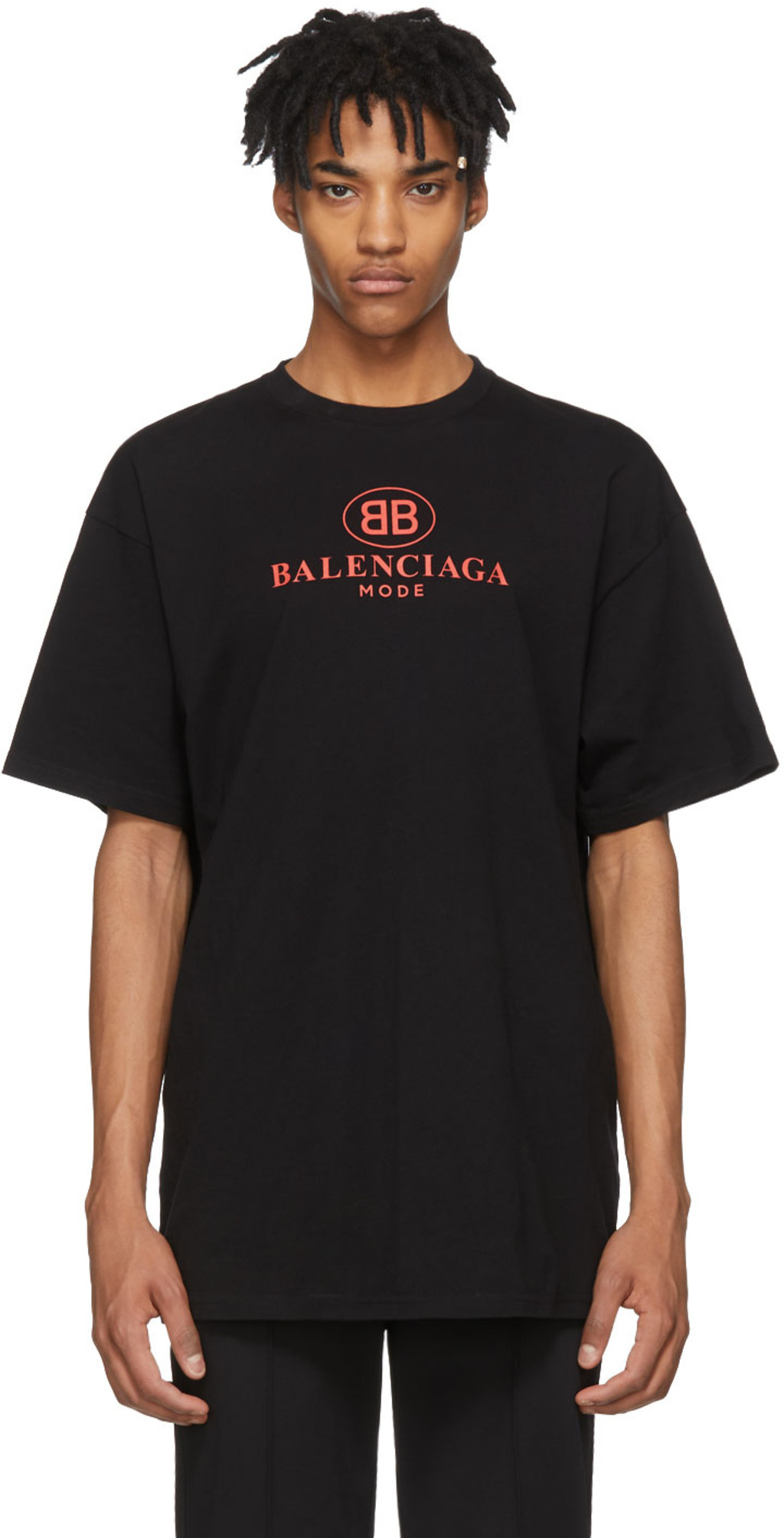 5590a6b00 Balenciaga t-shirts for Men | SSENSE