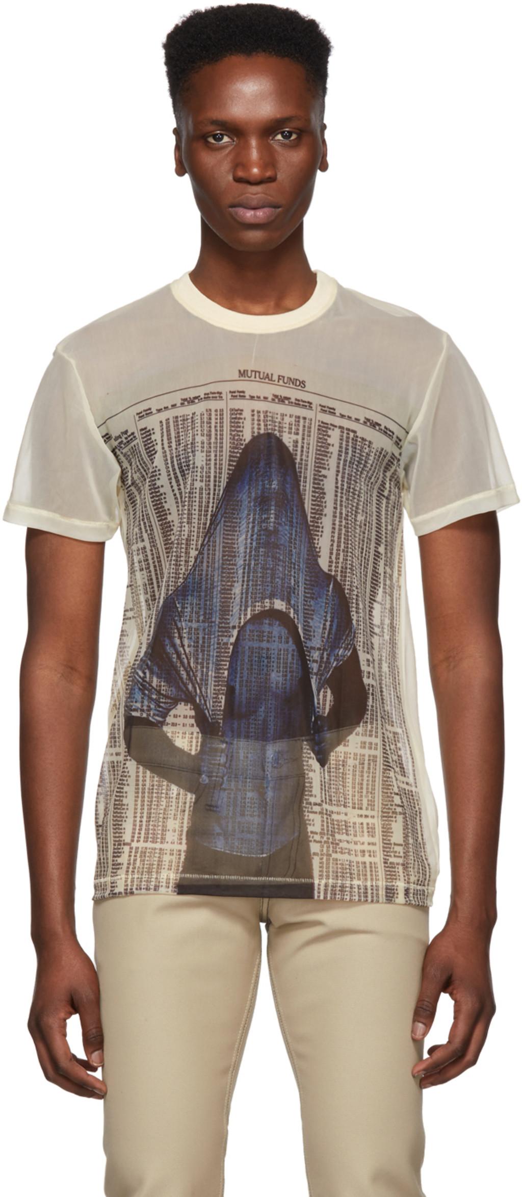 a62d4df2 Helmut Lang t-shirts for Men   SSENSE