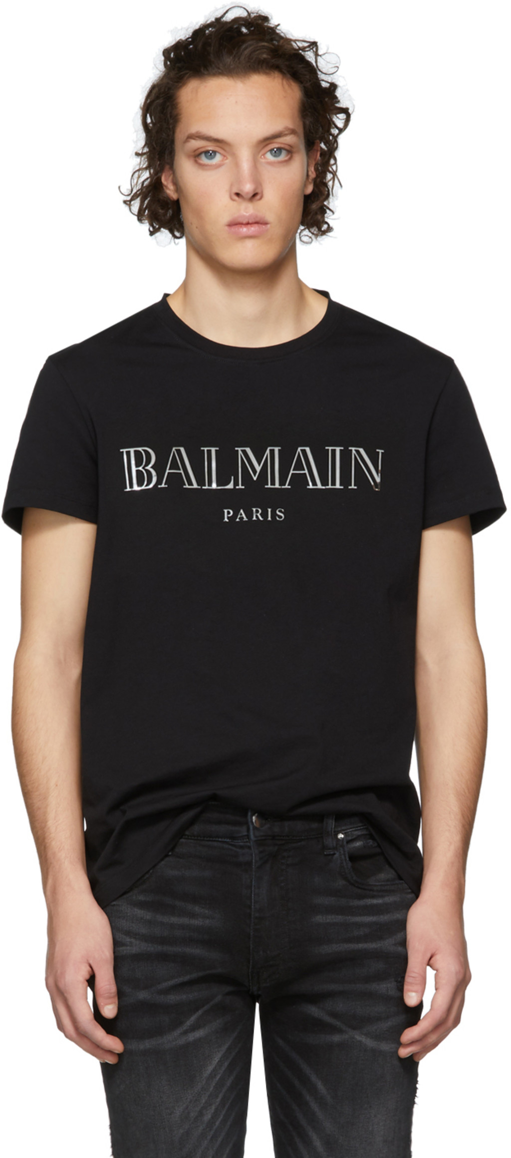 04a3bc36 Balmain t-shirts for Men | SSENSE UK