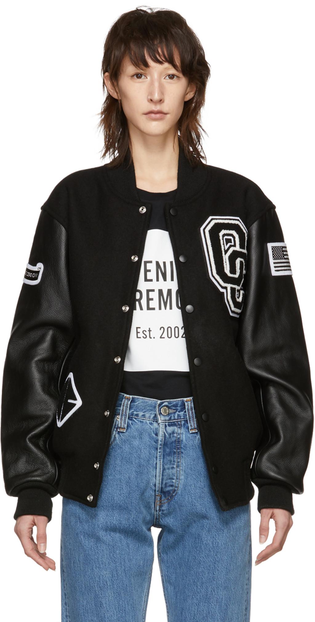 39613f6ec Black OC Varsity Jacket