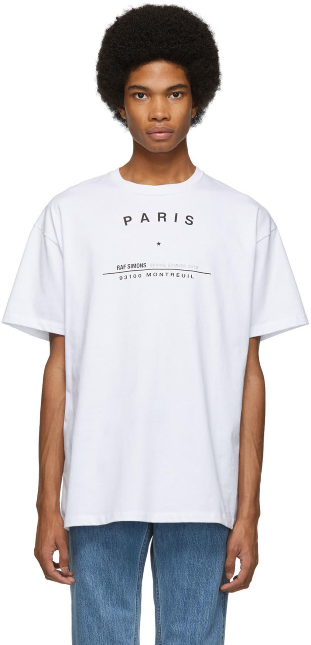 dfb20f5bc Raf Simons t-shirts for Men | SSENSE