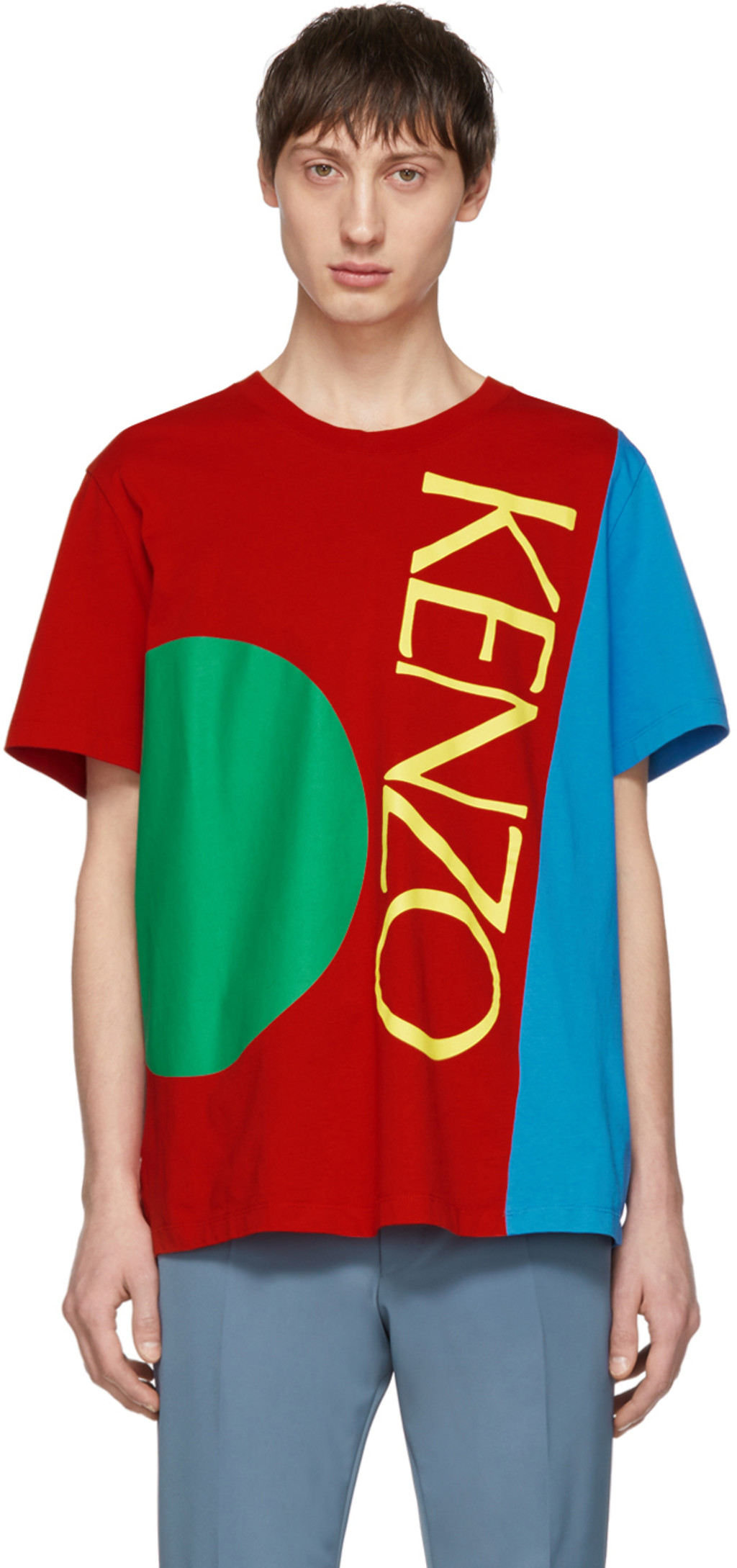 a6943ca0be Multicolor 'Square Logo' T-Shirt