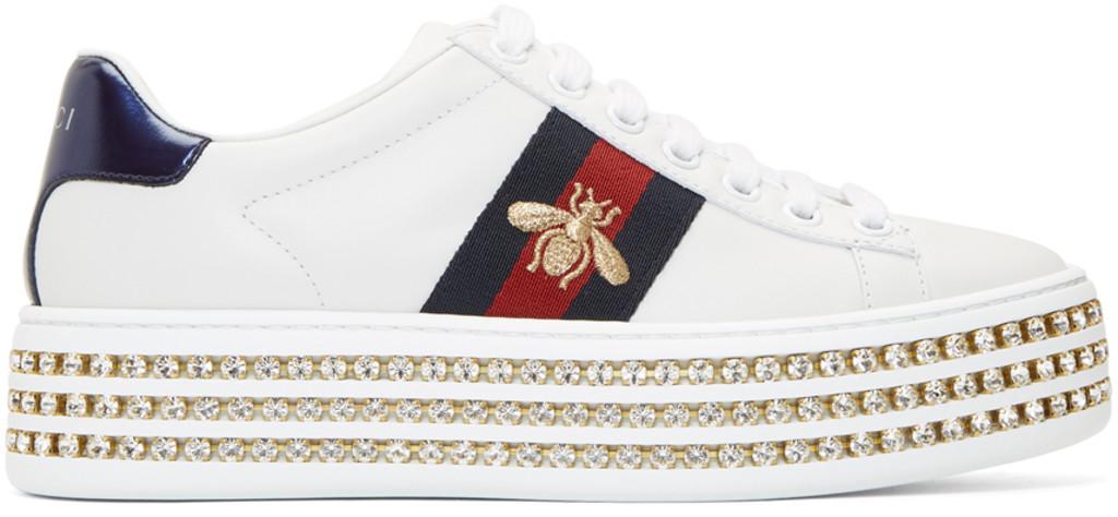 16cdf7304b8 Gucci sneakers for Women | SSENSE Canada