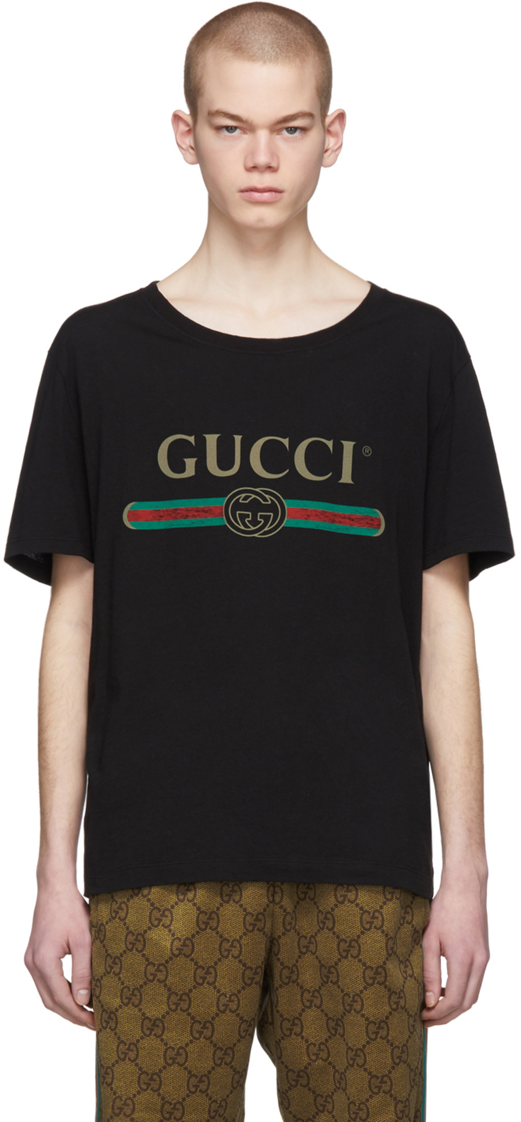 9f0eb3620 Gucci t-shirts for Men | SSENSE