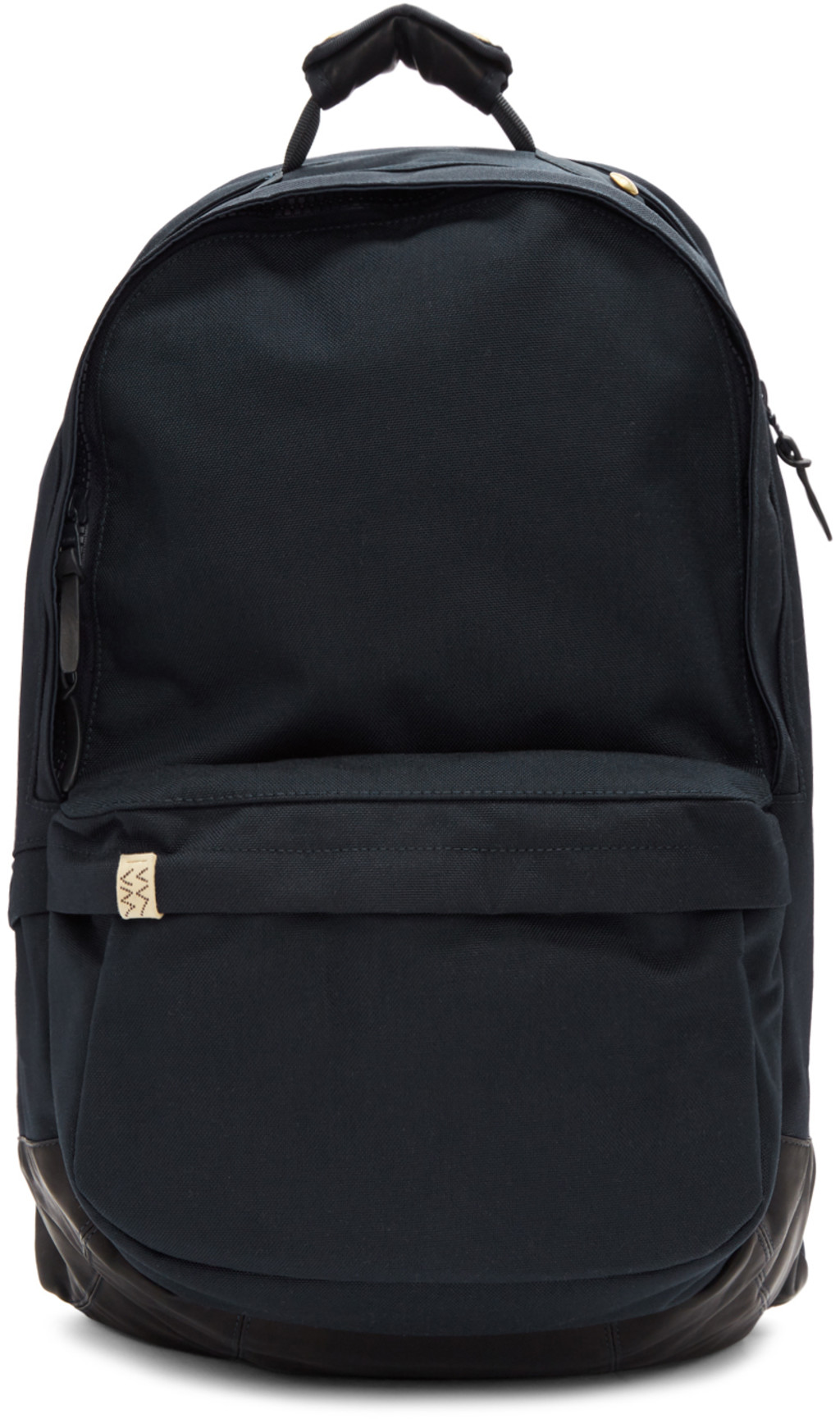 ef4ff06c5 Navy Cordura & Leather 22L Backpack