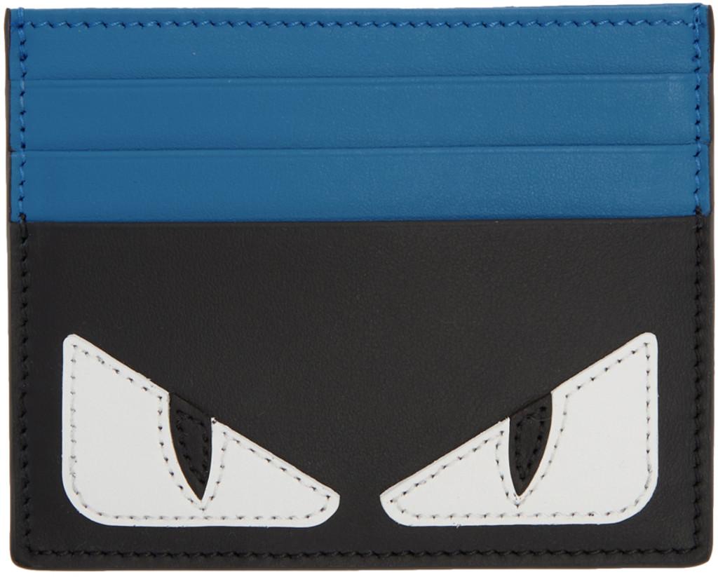 f880b7098c8c Blue & Black 'Bag Bugs' Card Holder