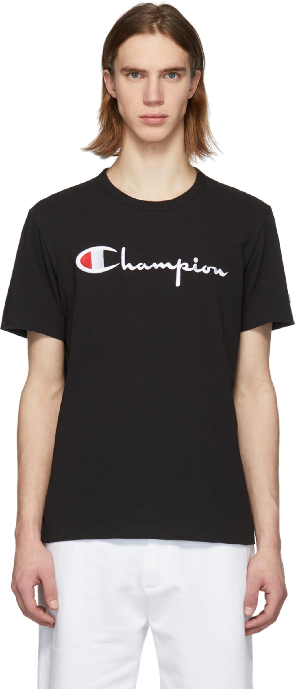 df9b29178 Champion Reverse Weave t-shirts for Men | SSENSE