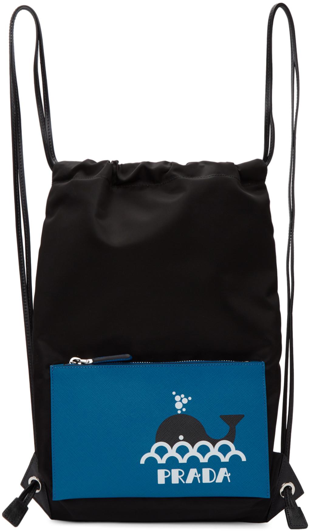 9ba4be820d73 Prada backpacks for Men | SSENSE