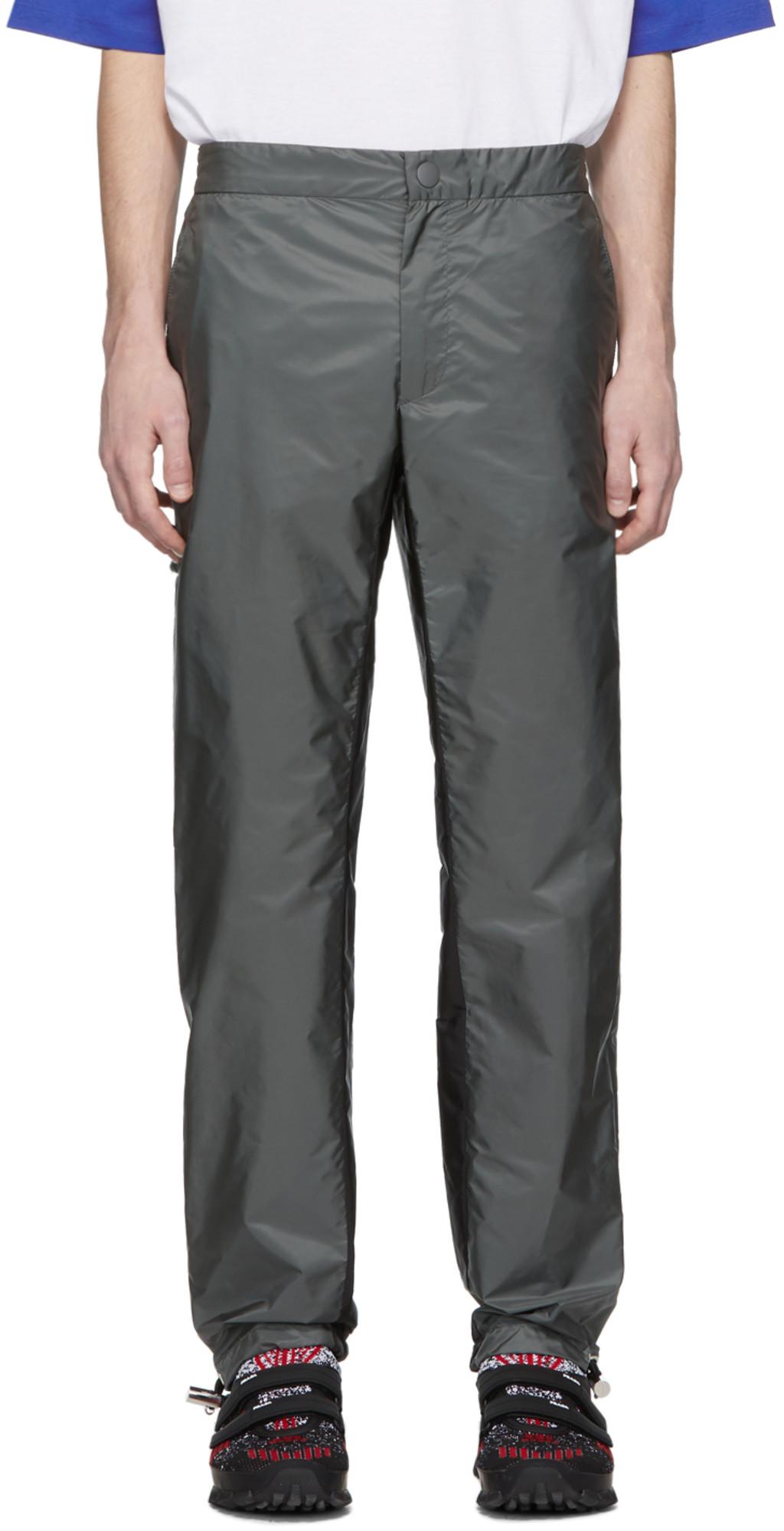 ce0e3fec Grey & Black Drawstring Trousers