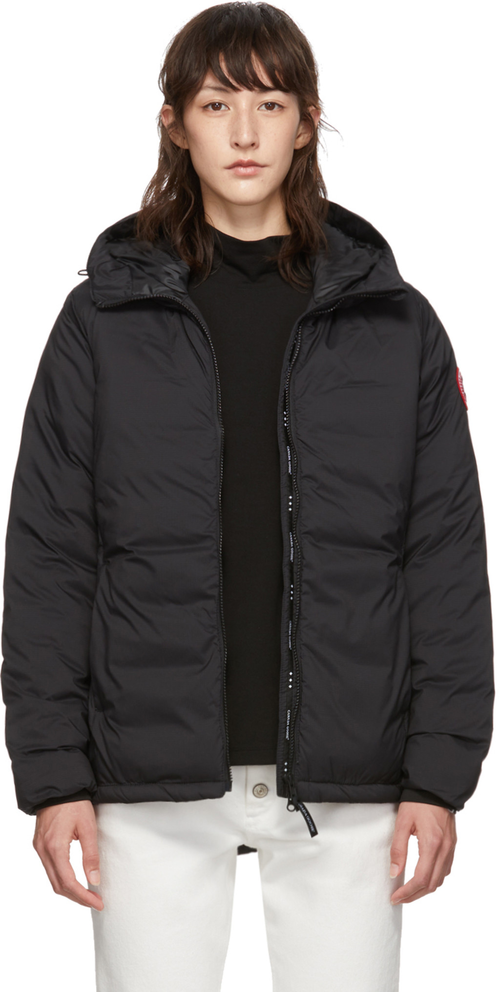 cc0771257bb Black Camp Hoody Jacket