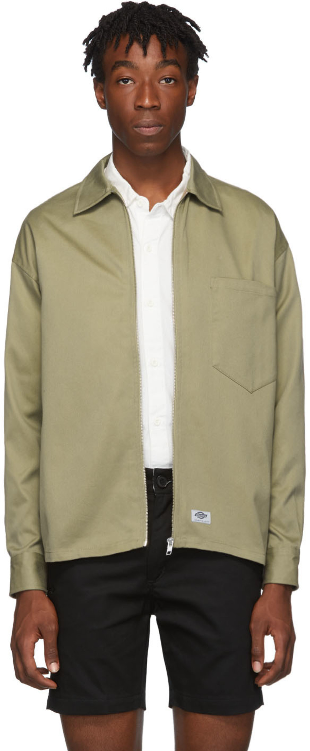 8bf7d9fdcf Taupe Zip Front Jacket