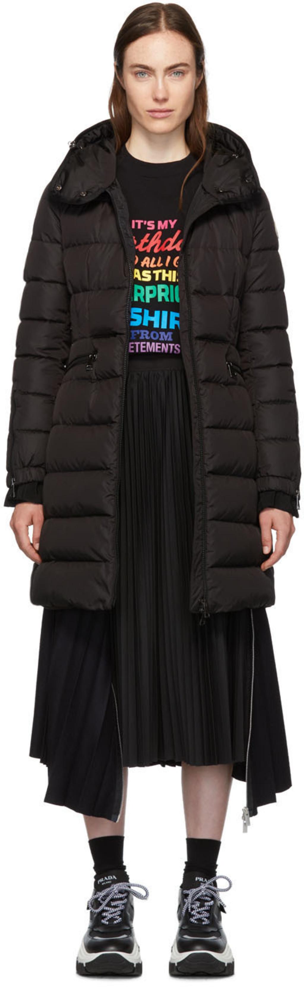 ba82cdb0e Black Down Betulong Hooded Coat