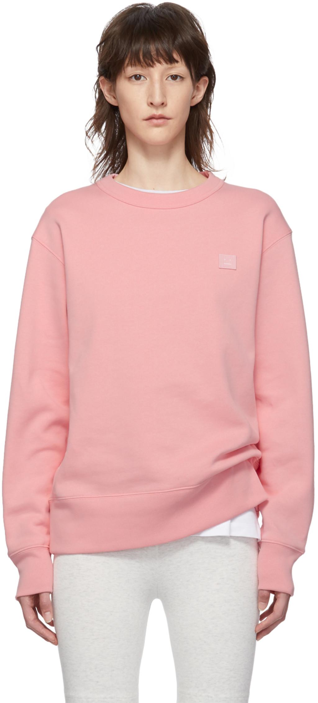 0897bd5a699 Pink Fairview Face Sweatshirt