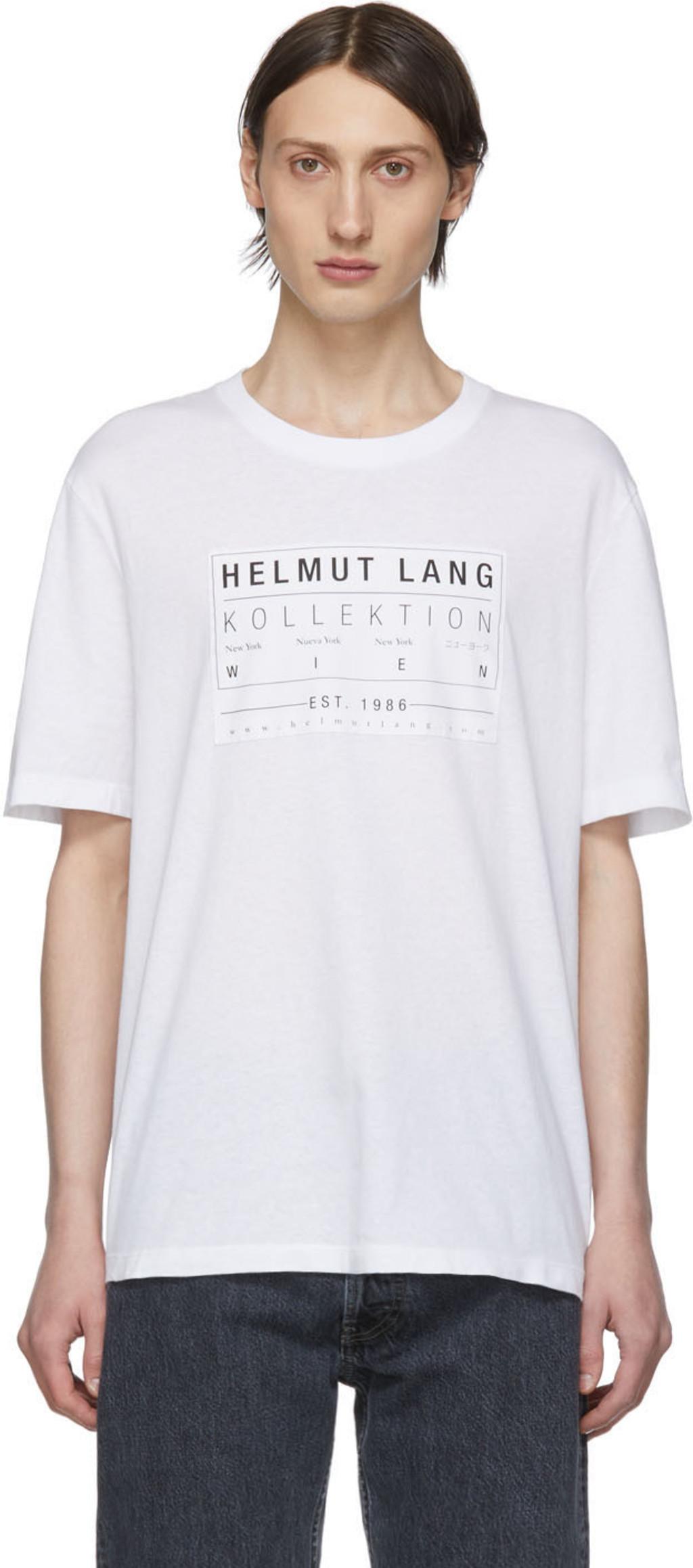 3bc251c7 Helmut Lang t-shirts for Men | SSENSE