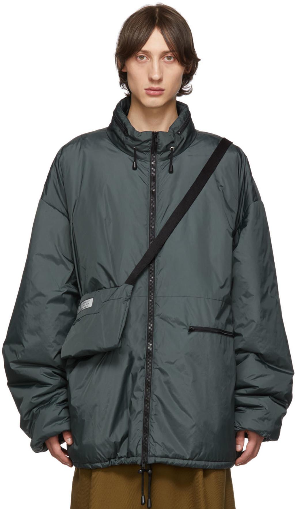 14c26a47d Grey Bum Bag Sports Jacket