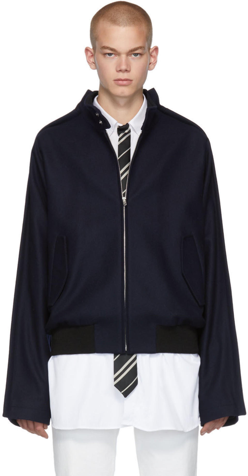 b42e27bc8 Blue Wool Traditional Jacket