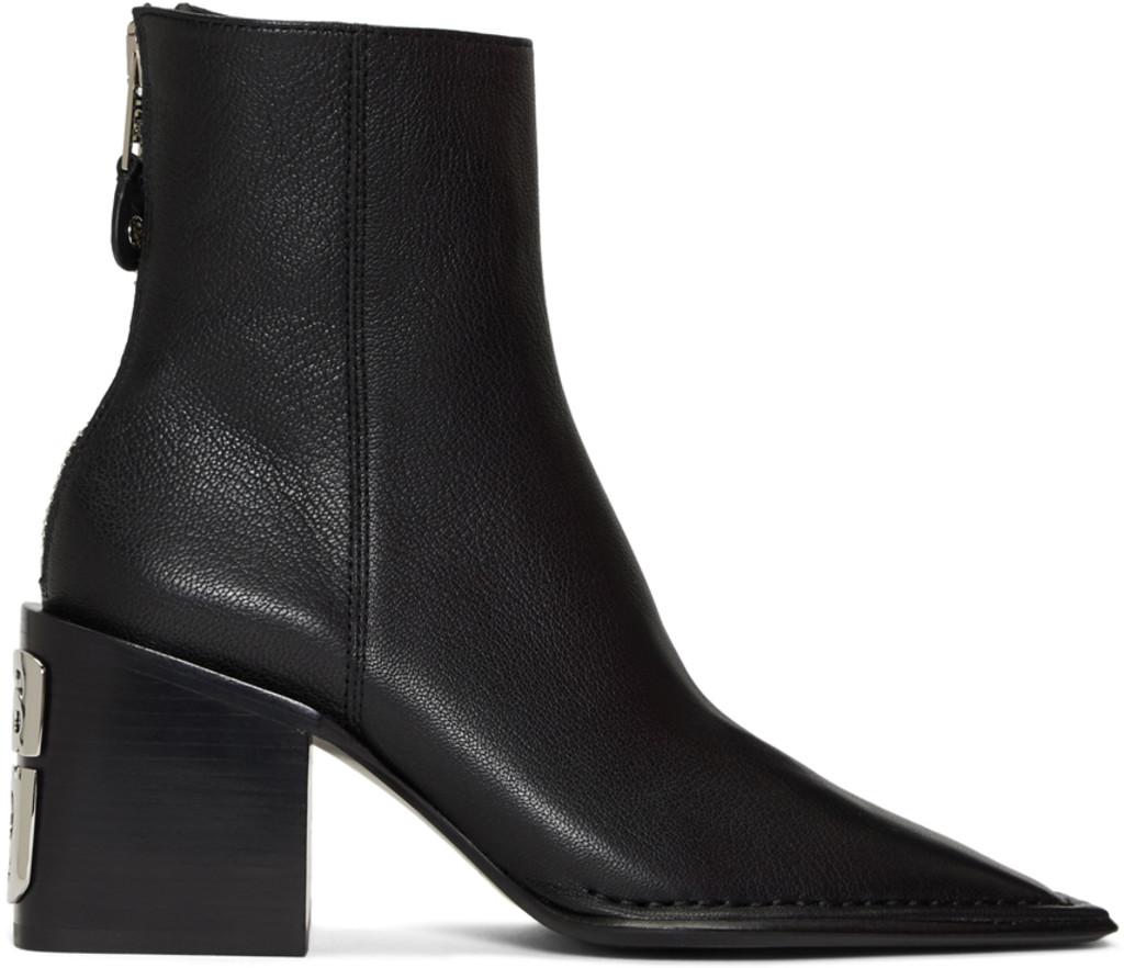 255016f6ab5 Black Grain Parker Boots