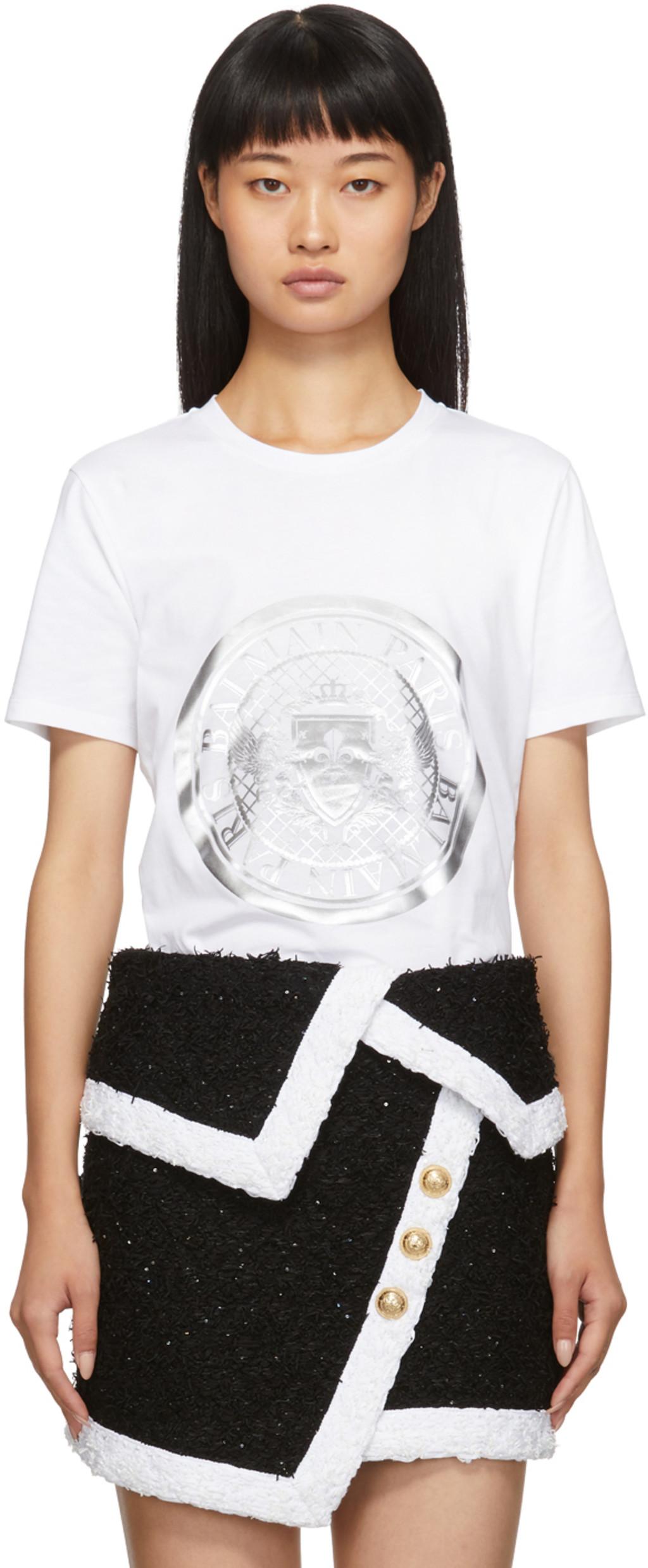 75fe6e5b3 White Coin T-Shirt