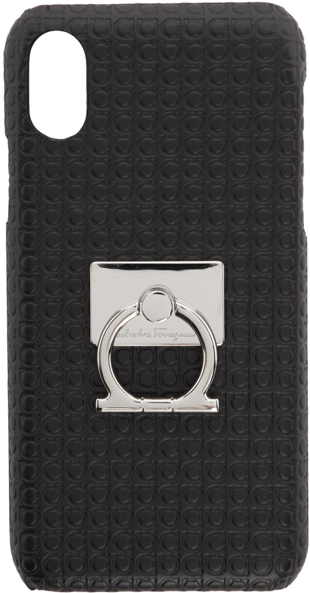 buy online 3267c f3e9b Black Mini Gianco iPhone X Case