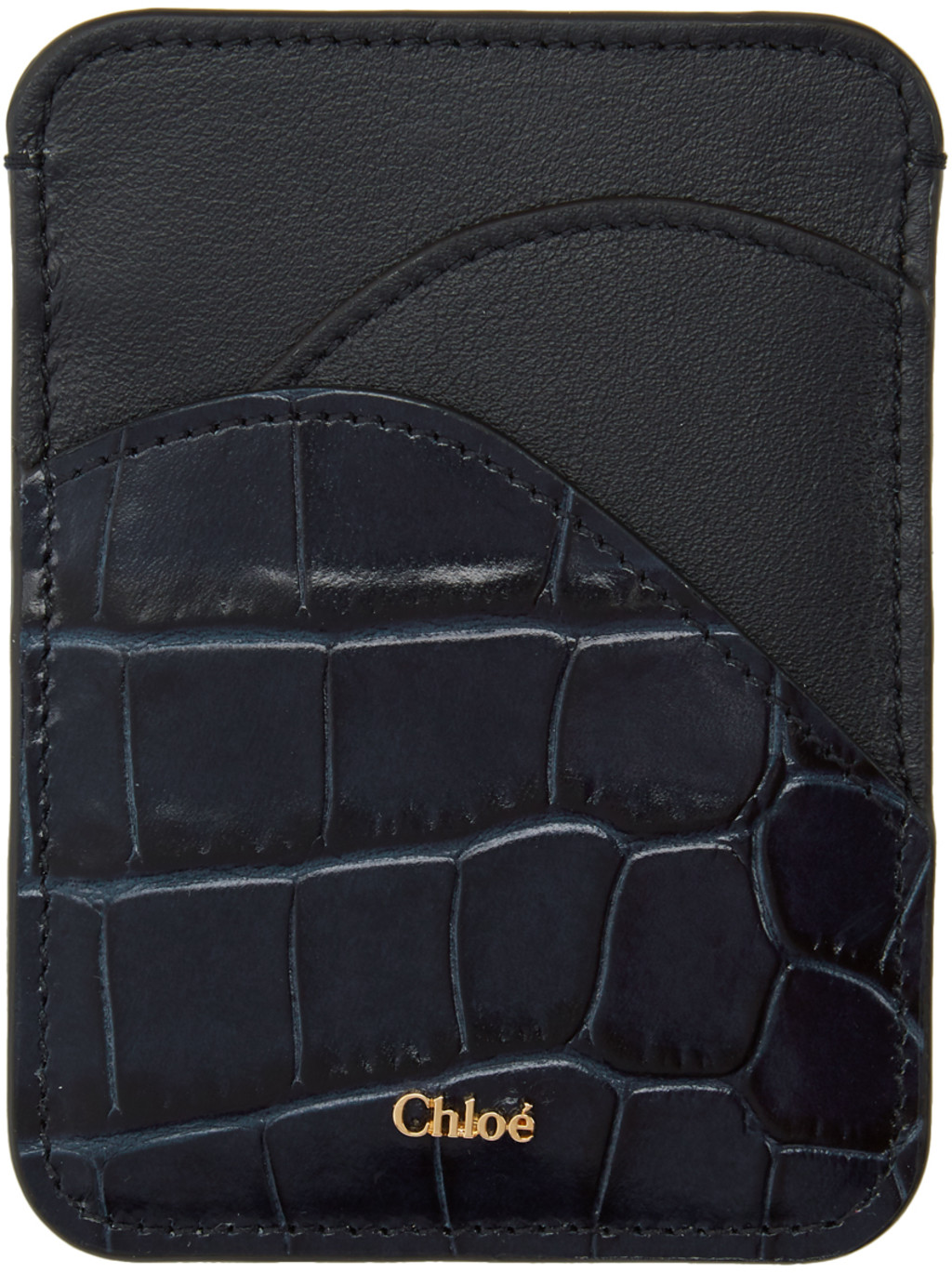 78973b67ad Navy Croc Walden Card Holder